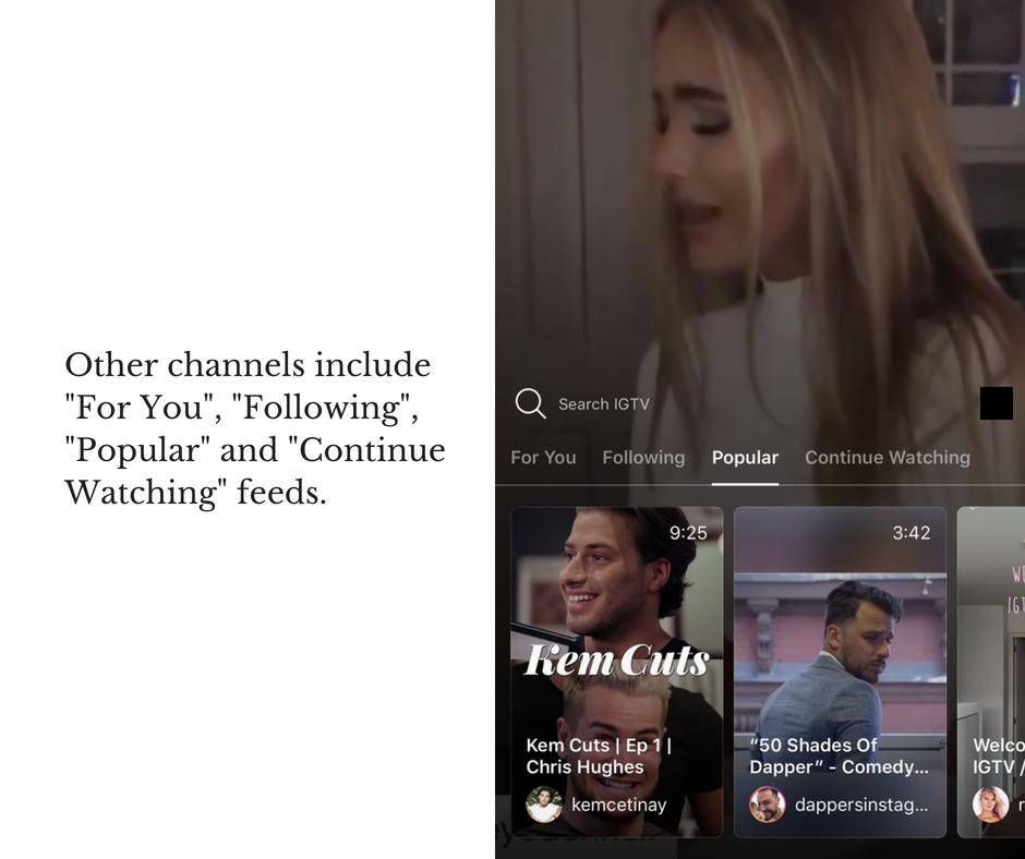 IGTV | Instagram Television | Kanuka Digital