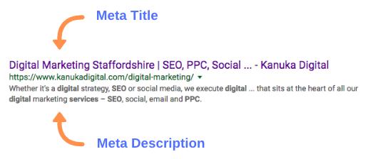 Metadata Example | SEO Jargon | Kanuka Digital