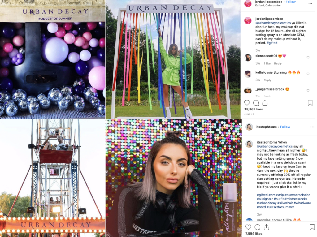 Brand Events | Influencer Marketing Campaigns