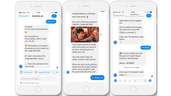 emojis in chatbot to enhance UX