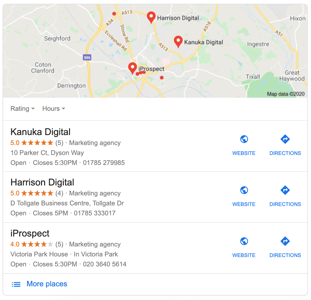 Local pack | Local SEO Guide